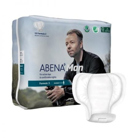 ABENA Man Formula 2 мужские прокладки при недержании мочи, 15 штук 10