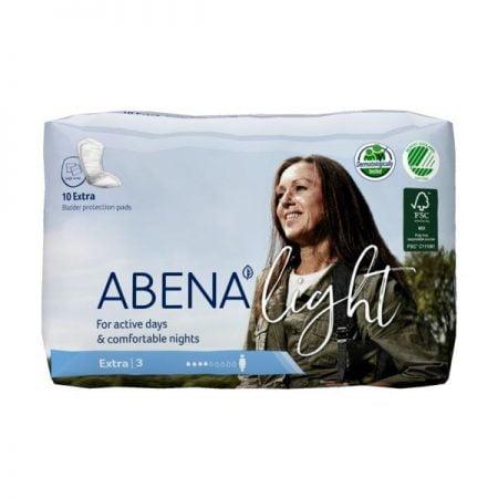 ABENA Light Extra 3 прокладки при недержании мочи, 10 штук 2