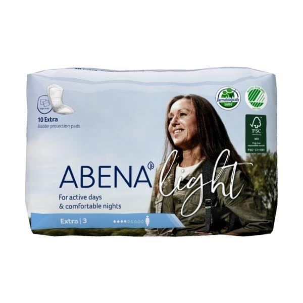 ABENA Light Extra 3 ieliktnīši urīna nesaturēšanai, 10 gab. 1