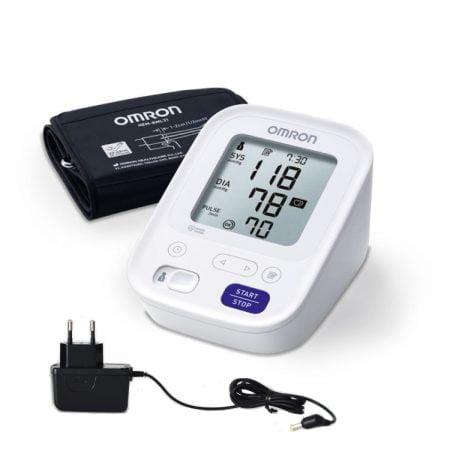 Asinsspiediena mērītājs OMRON M3 + adapters 4