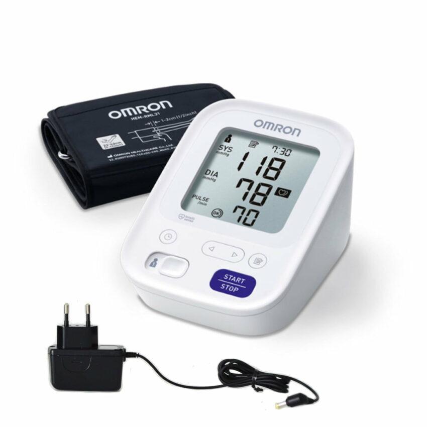 Asinsspiediena mērītājs OMRON M3 + adapters 1