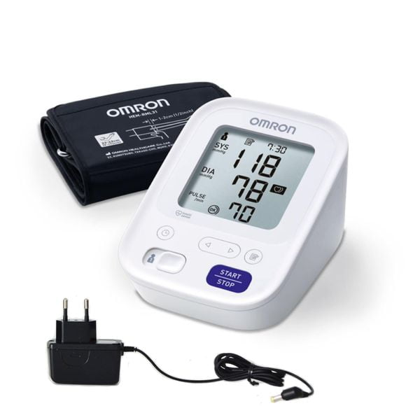 Измеритель артериального давления OMRON M3 + адаптер 1