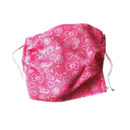 """Дистанционные маски для лица """"DISTANCE"""", детские, розовые с рисунком, 1 шт. 2"""