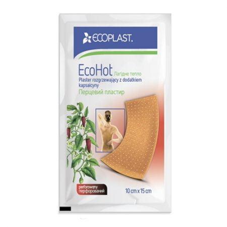 ECOPLAST sildošs piparu plāksteris EcoHot, N1 7