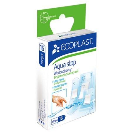ECOPLAST  Набор пластырей  медицинских водонепроницаемых (Aqua Stop), N16 5